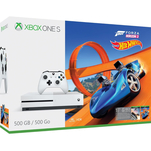 Pachet Consola Xbox One S 500GB si jocurile Forza Horizon 3 si Hot Wheels Expansion