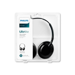 Casti Philips SHL4405BK on ear pliabile cu microfon pe fir