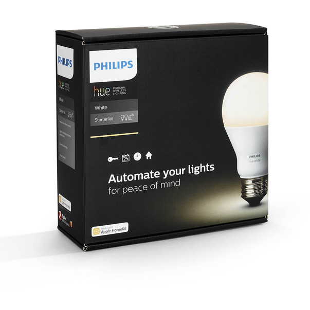 Set 2 becuri cu LED Philips HUE de 9.5W si bridge