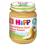 Piure desert Hipp cu pere Williams Christ 125 g