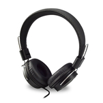 Casti handsfree on ear Qilive Q1296 negre cu mufa jack 3.5mm