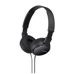 Casti cu fir Sony MDRZX110B si functie handsfree, on ear