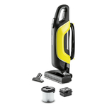 Aspirator vertical fara sac Karcher VC5 cu maner telescopic