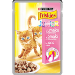 Friskies Junior cu pui in sos, 100g