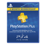 Card Playstation Plus abonament 90 zile la Playstation Network