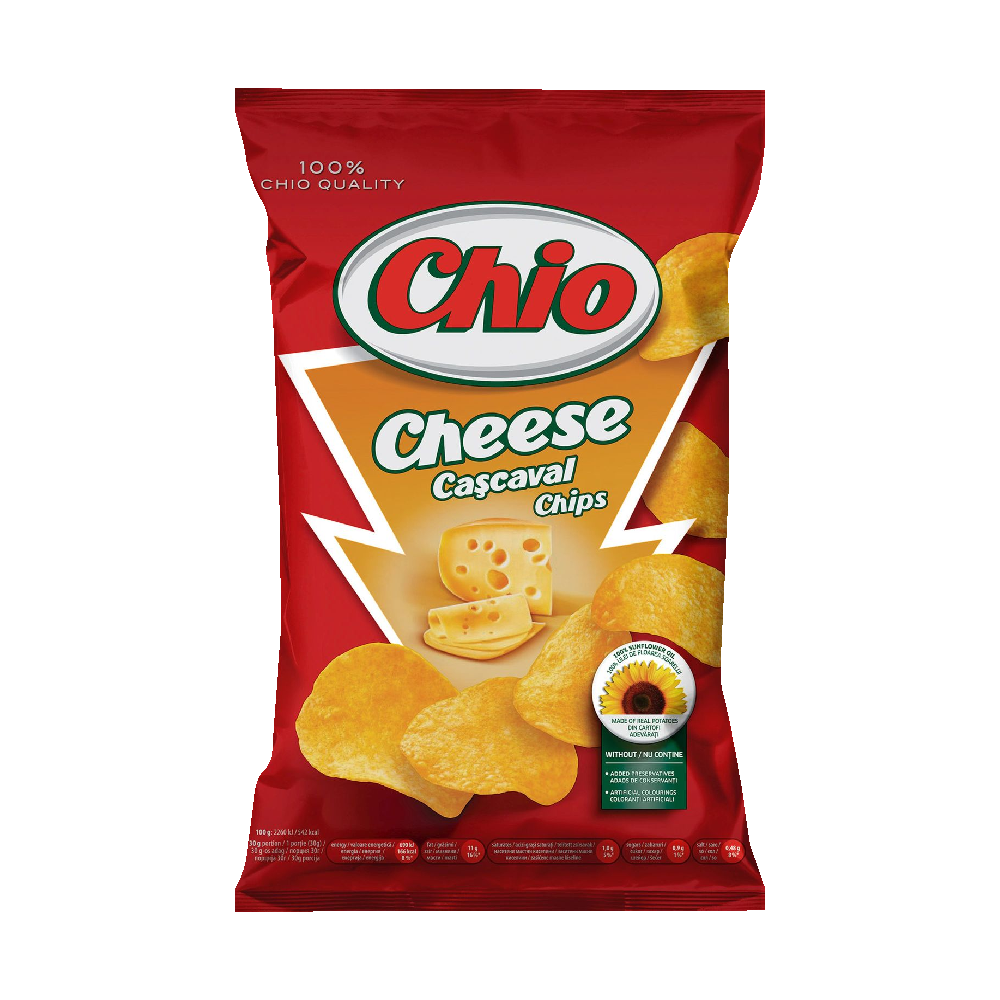 Chio Chips cu cascaval 140 g
