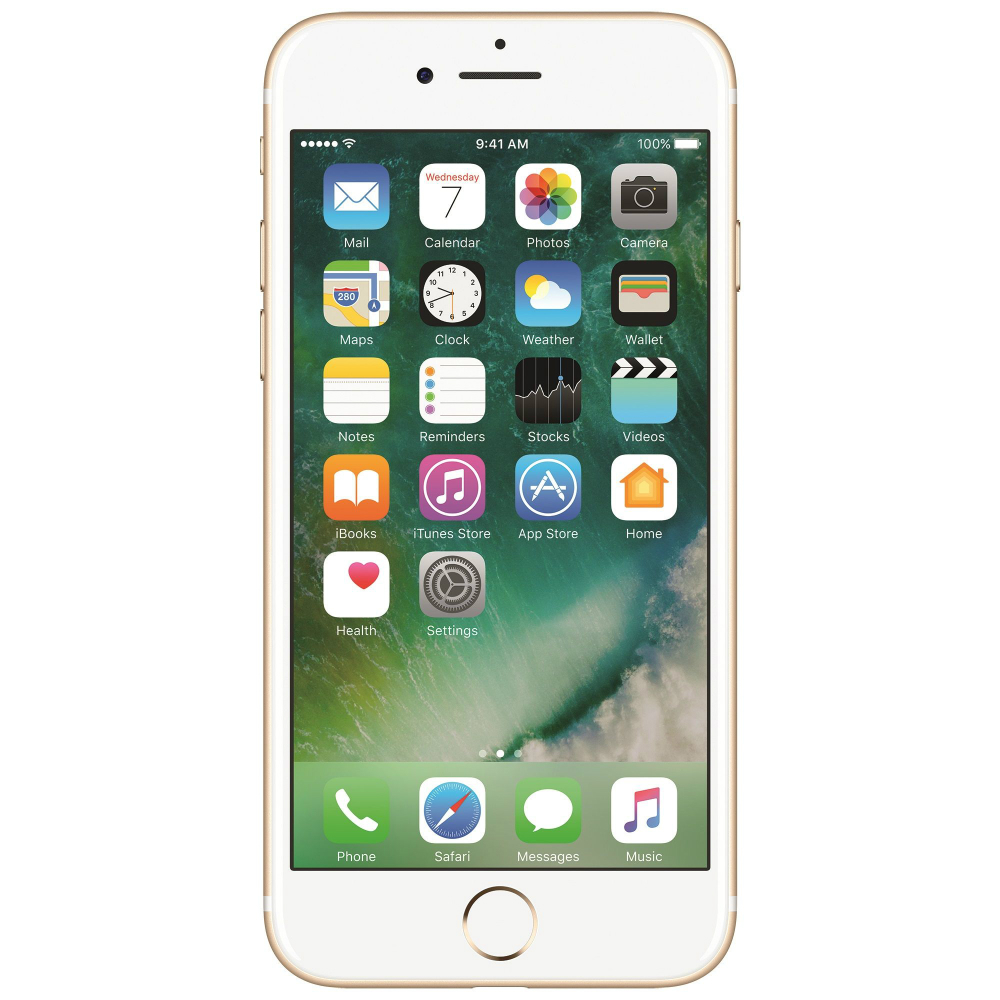 Telefon Apple iPhone 7 auriu 4G cu memorie de 128GB