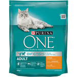 Purina ONE Adult cu pui si cereale integrale, 800g