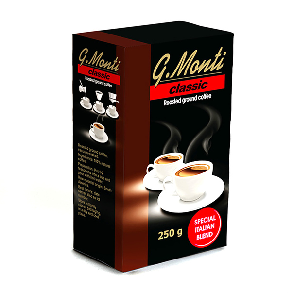 Cafea G.Monti classic, 250 g