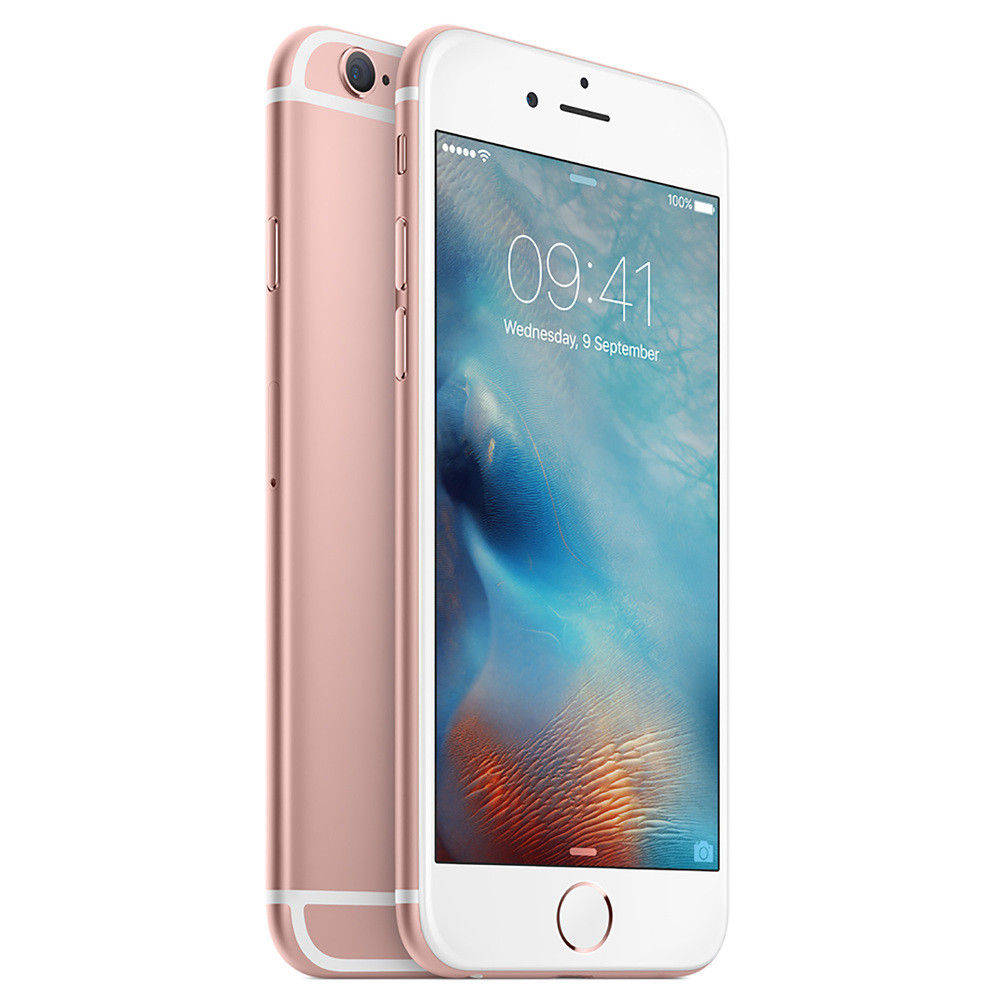 Telefon Apple iPhone 6s roz auriu 4G cu memorie de 64GB