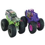 Set 2 masinute Spin Master Monster Jam, scara 1:64