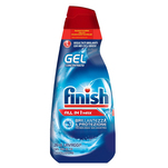 Detergent gel pentru masina de spalat vase Finish All in One Max Regular 650ml