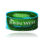 Ton bucati in suc natural John West, 145 g