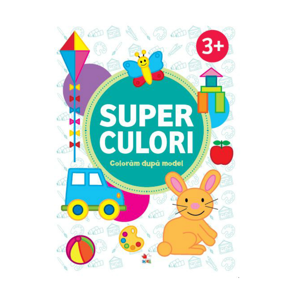 Superculori. Coloram dupa model 3+