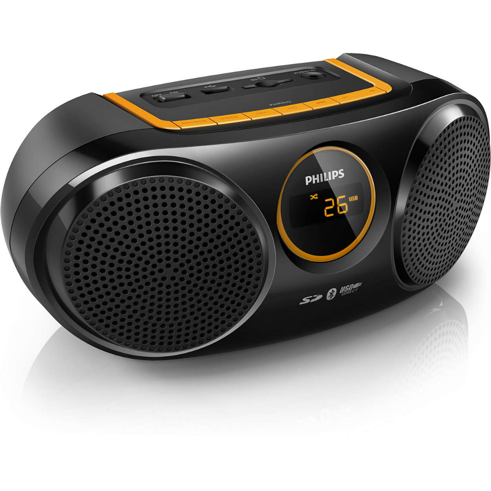 Radio portabil Philips AT10 cu bluetooth si port USB