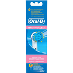 Set 2 rezerve Oral-B EBS17-2 Sensitive Braun pentru periute electrice