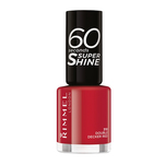 Lac de unghii Rimmel London 60 Seconds Shine, 310 Double Decker Red, 8 ml
