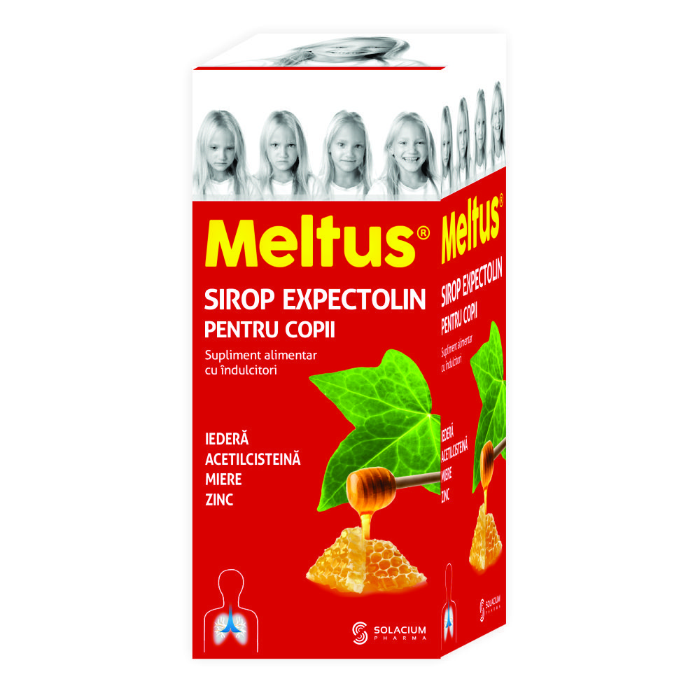 Meltus Sirop Expectolin Copii *100Ml