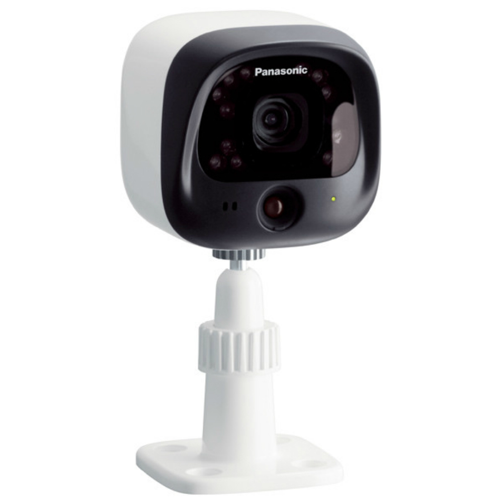 Kit de securitate Panasonic KX-HN6002FXW Home Monitoring Kit cu 2 camere video si hub central
