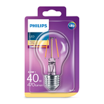 Bec LED Classic Philips 40W E27 WW A60 CL ND RF 1BC