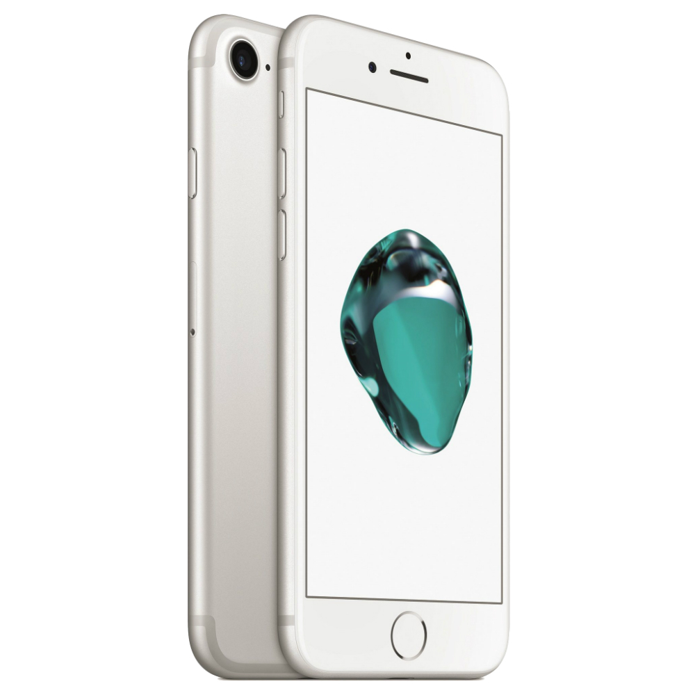 Telefon Apple iPhone 7 argintiu 4G cu memorie de 128GB
