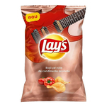 Lay's Chips cu gust de rosii si usturoi, 130 g