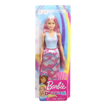 Papusa Barbie dreamtopia hairplay, 11.5 x 5.5 x 32.5 cm