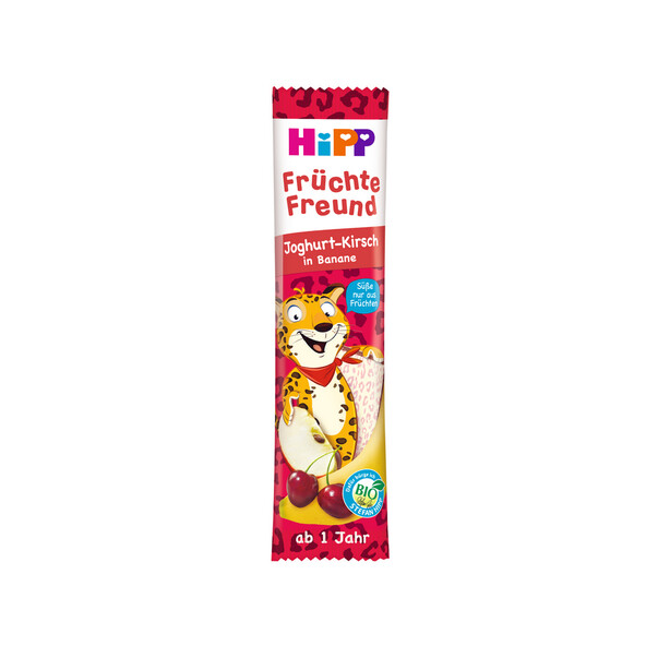 Baton Hipp Fruit-Friend iaurt, cirese si banana 23g