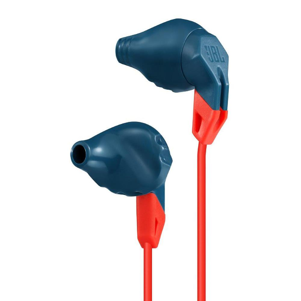 Casti cu fir si microfon JBL GRIP200 In ear albastre