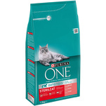 Purina ONE Junior cu pui si cereale integrale, 200g