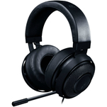 Casti gaming over the ear Razer Kraken Pro 2 Oval Black cu cablu panzat Kevlar