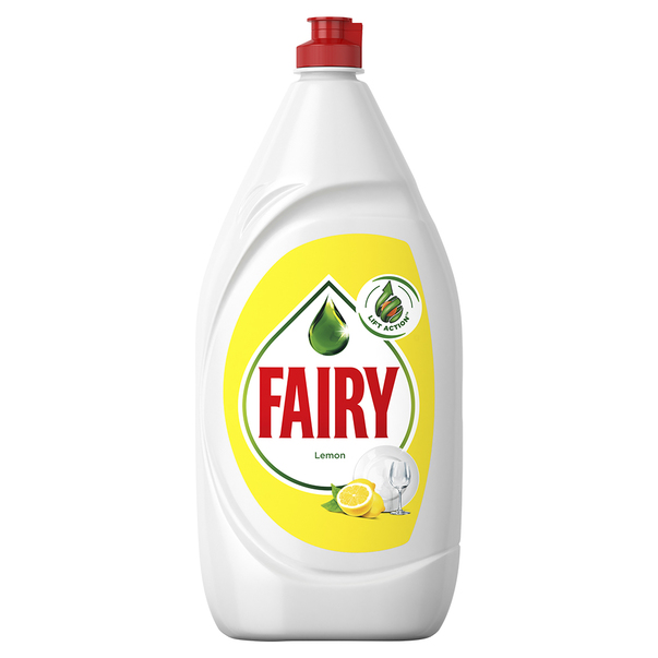 Detergent de vase Fairy Lemon, 1300 ml