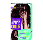 Colorant permanent sub forma de gel Schwarzkopf Pure Color Raven Black 1.0