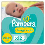 Pachet 12 paturici absorbante Pampers, 60 x 60cm