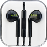 Casti handsfree negre ABC Tech in ear cu mufa jack