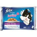 Pachet Felix Fantastic Junior, Pui in aspic, 4 x 100g