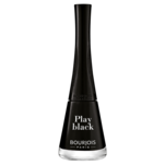 Lac de unghii Bourjois 1 Seconde Relaunch, 06 Play Black, 9 ml