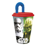 Pahar cu pai Star Wars 430 ml
