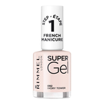 Lac de unghii Super Gel French Manicure, 092 Ivory Tower, 12 ml