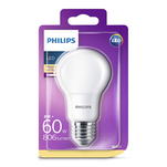 Bec LED Philips 60W A60 E27 WW 230V FR ND 1BC/4