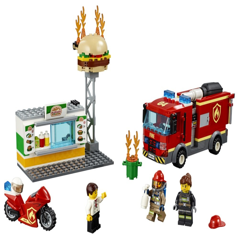 LEGO City - Incendiu la Burger Bar 60214