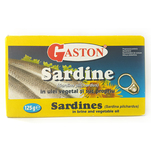 Sardine Gaston in ulei 125 g