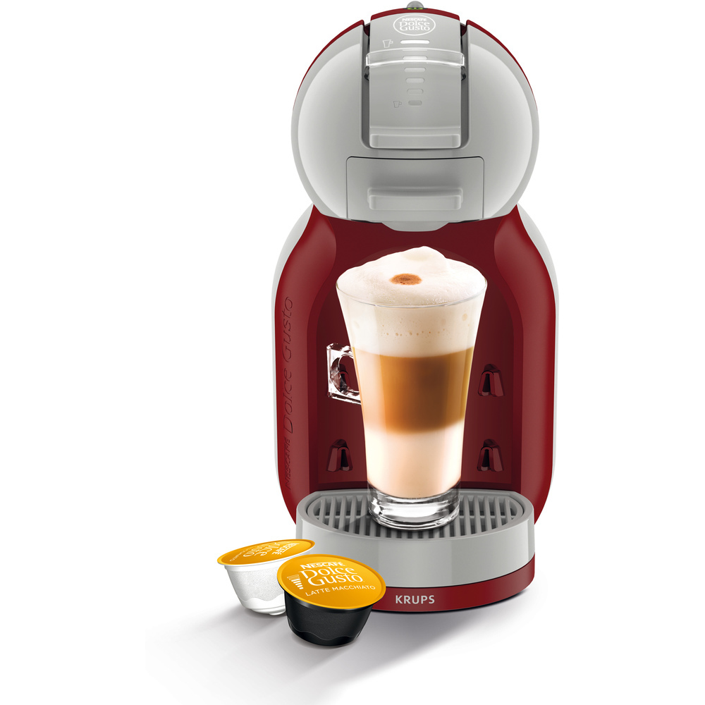espressor automat cu capsule krups dolce gusto mini me rosu auchan online. Black Bedroom Furniture Sets. Home Design Ideas