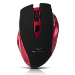 Mouse wireless Canyon CNS-CMSW7R rosu cu acumulator incorporat