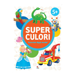 Superculori. Coloram dupa model 5+