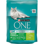 Purina ONE Adult Indoor cu curcan si cereale integrale, 200g