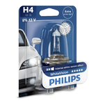 Bec far auto Philips White Vision H4 12V 55W cu halogen