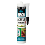 Silicon acrilic Bison negru 300ml