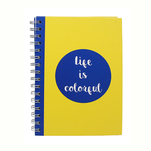 Notebook Auchan A5 colorful, spira 80 de file