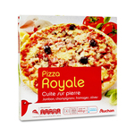 Pizza Auchan royale, 400 g